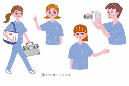 医歯薬出版「デンタルハイジーン6月号」の挿絵