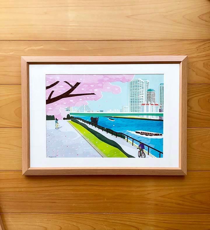 『中目黒アート花見会Vol.5 Sakura 展』出展作品1