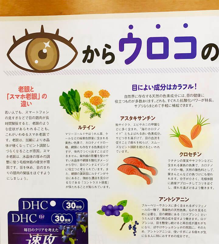DHC「みんな、げんき?」2月号挿絵ページ2